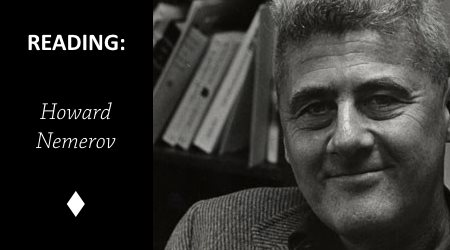 Reading: Because You Asked Me About The Line Between Prose And Poetry by HowardNemerov