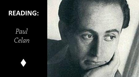 Reading: Flower by Paul Celan