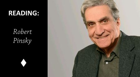 Reading: The Shirt by Robert Pinsky